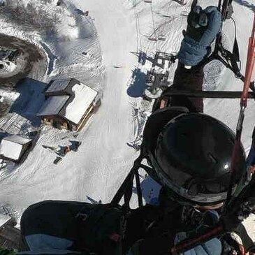 Parapente à Ski, département Isère