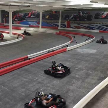 Sessions de Karting Electrique à Lyon