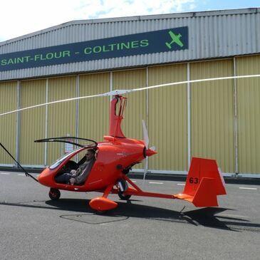 Aérodrome de Saint-Flour-Coltines, Cantal (15) - Baptême en ULM et Autogire