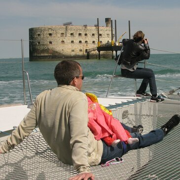 Week-end à La Rochelle et Balade en Voilier vers Fort Boyard