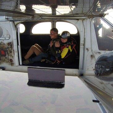 Saut en parachute, département Val d'oise