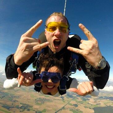 Saut en parachute en région Ile-de-France
