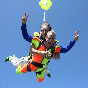 Saut en Parachute Tandem près de Rouen