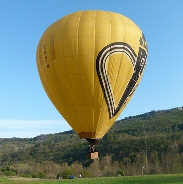 Vol en Montgolfière près d'Aix-en-Provence