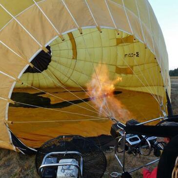 Baptême de l'air montgolfière, département Bouches du Rhône