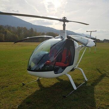 Baptême en Hélicoptère ULM aux Saisies