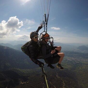 Vol en Parapente en Combe de Savoie - Lac du Bourget