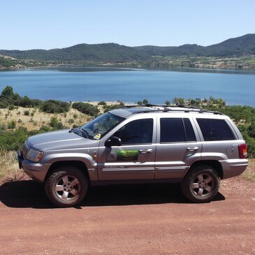 Balade en 4X4 près du Lac du Salagou