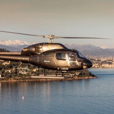 Week-end Baptême en Hélicoptère à Cannes - Îles de Lérins en région Provence-Alpes-Côte d'Azur et Corse