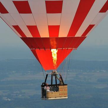 Baptême de l'air montgolfière, département Charente maritime