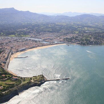 Week-end à Biarritz - la Côte Basque en Hélicoptère