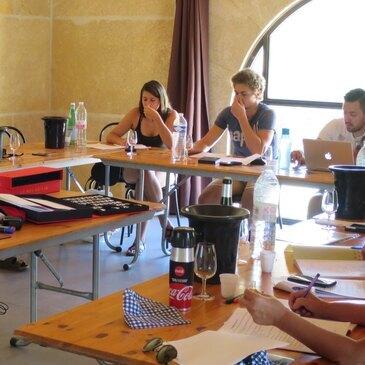 Cours d'œnologie, département Hérault