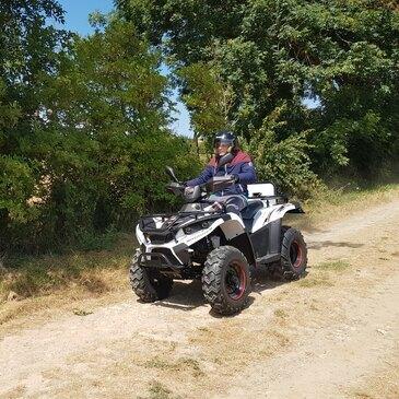 Week end Randonnée quad en région Basse-Normandie