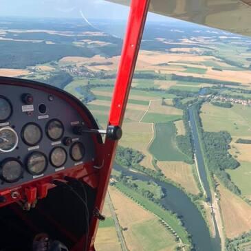 Pilotage ULM en région Franche-Comté