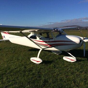 Pilotage ULM proche Gray, à 50 min de Vesoul