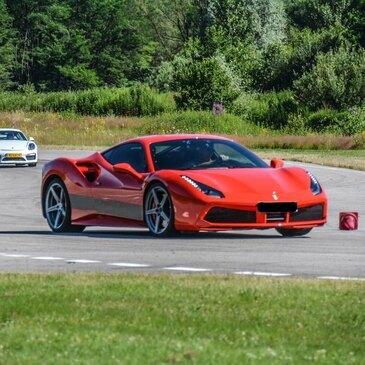 Stage de Pilotage Ferrari 488 - Circuit de Mettet