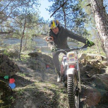Randonnée Moto Trial dans le Luberon