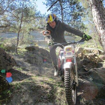 Journée Moto Trial et VTT Electrique dans le Lubéron