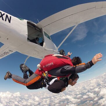 Saut en parachute, département Yvelines