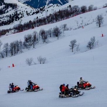 Scooter des neiges, département Savoie