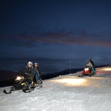 Scooter des neiges en région Rhône-Alpes