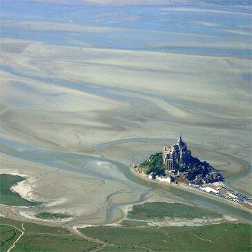 Week-end Baptême en Hélicoptère - Survol du Mont-Saint-Michel