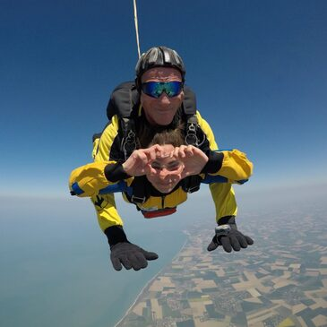 Week-end Saut en Parachute Tandem près d'Etretat