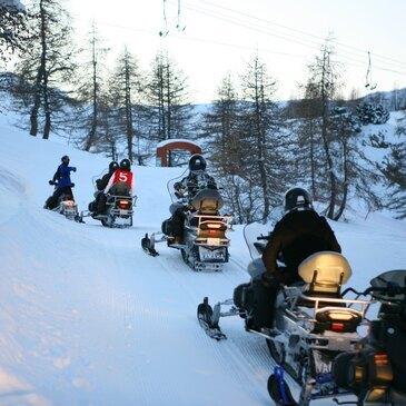 Week-End Randonnée en Scooter des Neiges à Pra-Loup