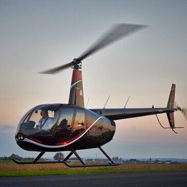 Stage initiation hélicoptère en région Bretagne