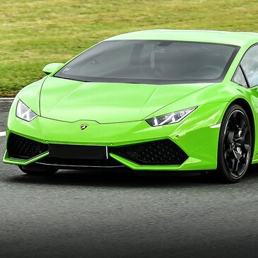 Stage en Lamborghini Huracan - Circuit de Croix-en-Ternois