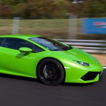 Stage en Lamborghini Huracan - Circuit d'Abbeville