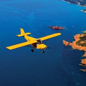 Pilotage d'ULM Multiaxe près de Nice