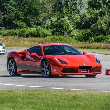 Stage de Pilotage Ferrari 488 - Circuit Dijon-Prenois