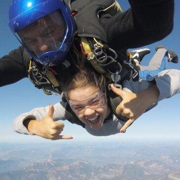 Saut en parachute, département Bouches du Rhône
