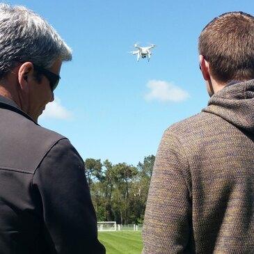 Pilotage de Drone, département Maine et loire