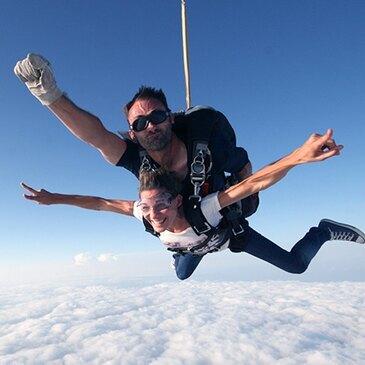 Saut en parachute, département Eure et loir