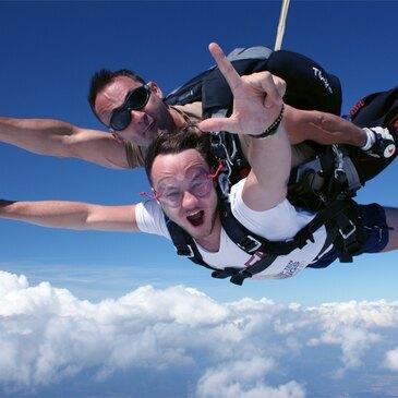 Saut en parachute en région Centre