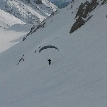 Parapente à Ski en région Provence-Alpes-Côte d'Azur et Corse