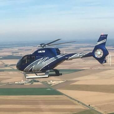Vol d'Initiation en Hélicoptère EC120 à Toussus-le-Noble