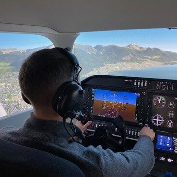 Simulateur de Vol en Avion à Annecy