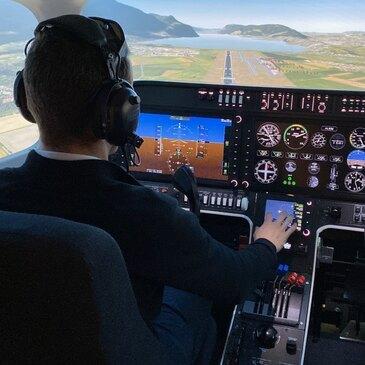 Simulateur de Vol en région Rhône-Alpes