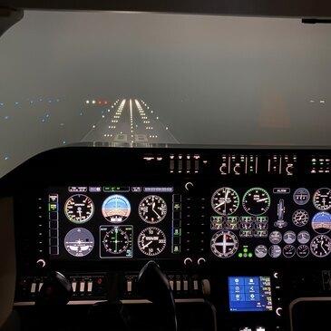 Aéroport Annecy Haute-Savoie Mont Blanc, Haute savoie (74) - Simulateur de Vol
