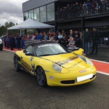 Stage Enfant en Porsche Boxster sur le Circuit d'Albi