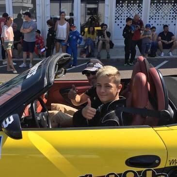 Stage Enfant en Porsche Boxster à Nantes