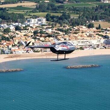 Baptême en Hélicoptère à Agde