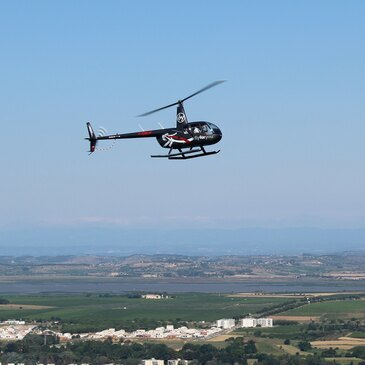Agde, Hérault (34) - Baptême de l'air hélicoptère