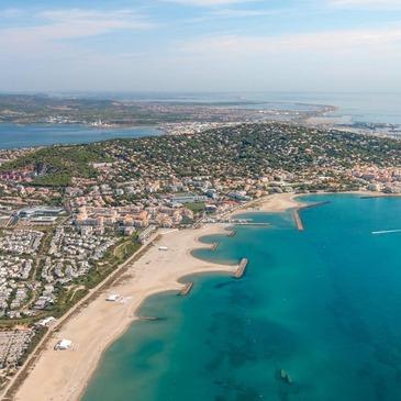 Baptême de l'air hélicoptère proche Agde