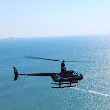 Baptême en Hélicoptère à Agde en région Languedoc-Roussillon