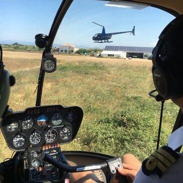 Dardilly, Rhône (69) - Baptême de l'air hélicoptère