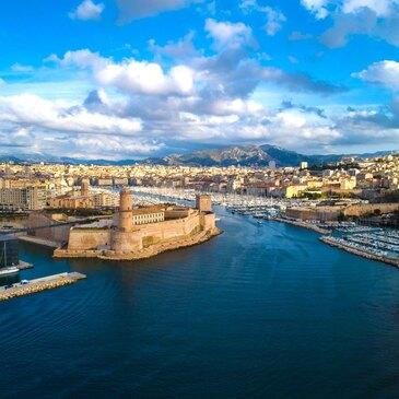 Baptême en Hélicoptère près de Marseille